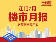 7月江门楼市月报:新房市场回落,存量市场趋稳 - 乐有家