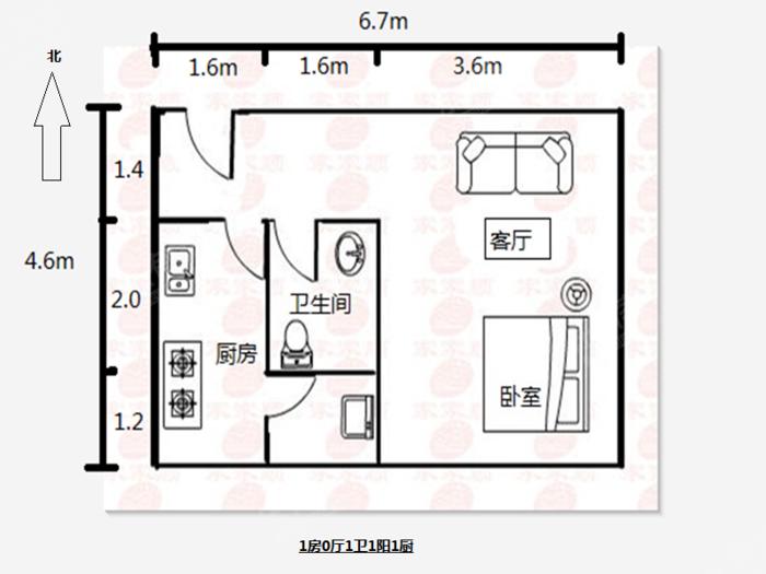 房源标题户型图