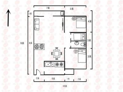 单边位楼栋,边头位户型,三房同侧,实用性强
