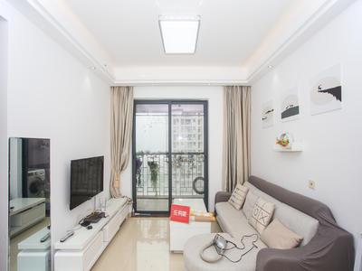 泛海城市广场,端头精装两房,客厅出大阳台