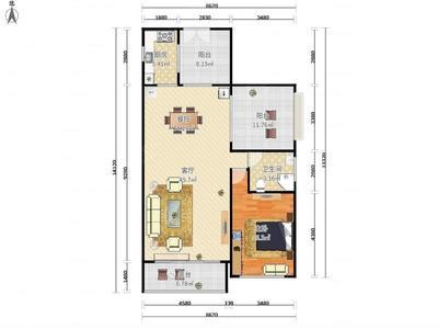 招商观园住宅3室2厅,周边配套成熟,业主诚心出租